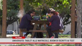 Palermo. Università: Tablet alle matricole, boom di iscritti ai test d'ammissione