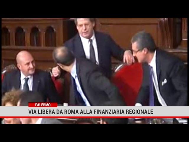 Palermo. Via libera da Roma alla finanziaria regionale