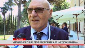 Palermo. Vittorio Virzì rieletto presidente dell'Associazione Medico Sportiva