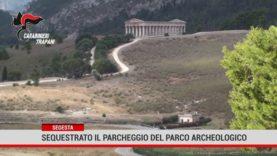 Segesta. Sequestrato il parcheggiodel parco archeologico