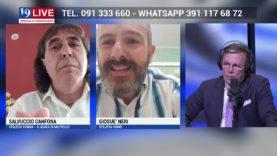 TELE ONE canale 19: SALVUCCIO CANFORA e GIOSUE' NERI IN DIRETTA TV SU 19 LIVE