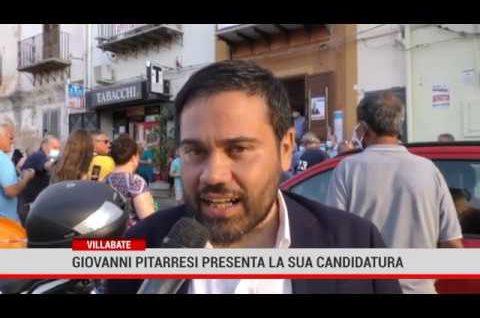 Villabate. Giovanni Pitarresi presenta la sua candidatura
