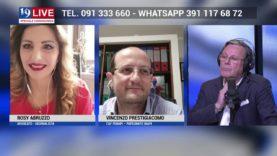 VINCENZO PRESTIGIACOMO E ROSY ABRUZZO IN DIRETTA TV SU TELE ONE