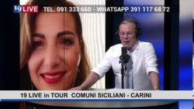 19LIVE   IN TOUR COMUNI SICILIANI   CARINI