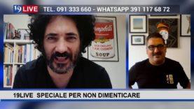 """19LIVE SPECIALE PER NON DIMENTICARE CON ROY PACI – CIATU """"SIAMO CAPACI"""""""