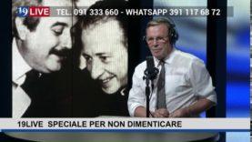 19LIVE   SPECIALE PER NON DIMENTICARE   intervista al giudice Leonardo Guarnotta.