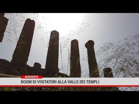 Agrigento. Boom di visitatori alla Valle dei Templi