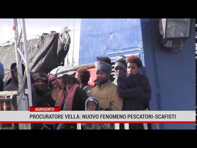 Agrigento. Il procuratore Salvatore Vella  denuncia il nuovo fenomeno di pescatori – scafisti.