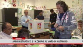 Amministrative. 61 comuni al voto in autunno