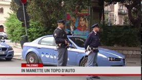 Arrestato un topo d'auto a Palermo