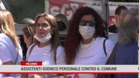 Assistenti igienico personale contro il Comune di Palermo