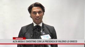 Bagheria: Alta moda e shooting con la presenza di Valerio Lo Greco da Antonino Carcione Sposi