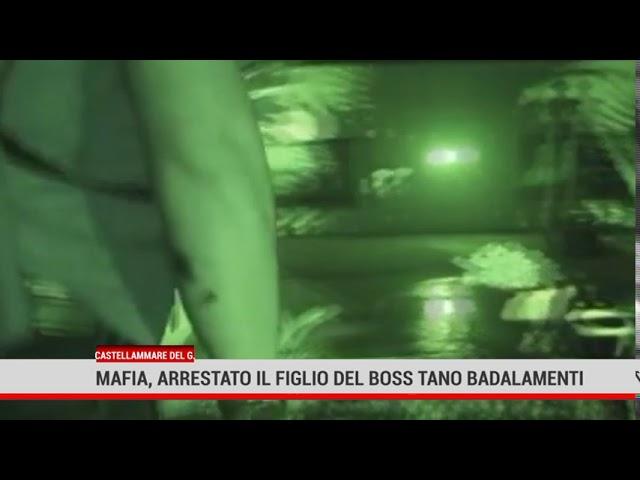 Castellammare del Golfo. Mafia, arrestato il figlio del boss Tano Badalamenti