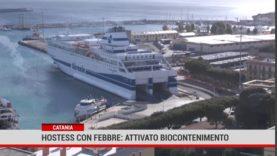 Catania. Hostess con febbre: attivato biocontenimento