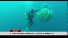 Catania. La marina militare ha neutralizzato 32 ordigni esplosivi