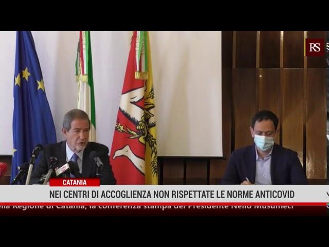 Catania. Nei centri di accoglienza non rispettate le misure anticovid