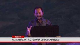 """Dionisiache. Al Teatro antico di Segesta """"Storia di una capinera"""""""