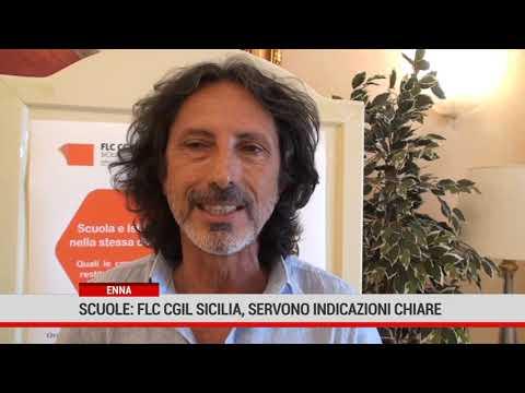 """Enna. Scuole, Flc Cgil Sicilia: """" servono indicazioni chiare """""""