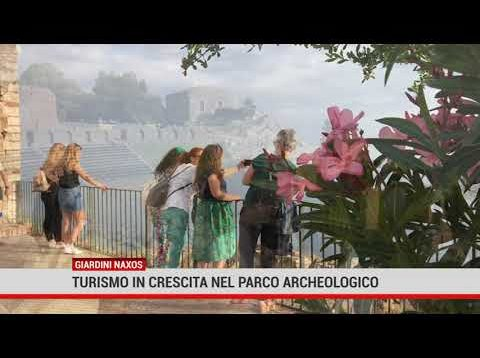 Giardini Naxos (ME). Turismo in crescita nel Parco Archeologico
