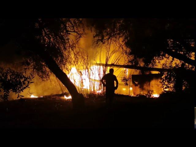 Incendio questa notte ad Altavilla Milicia