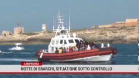 Lampedusa. Continuano gli sbarchi di piccolo gruppi di migranti