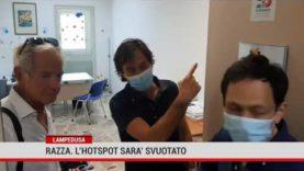 """Lampedusa. Razza: """"L' hotspot sarà svuotato"""""""