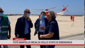 Lampedusa. Totò Martello incalza sullo stato di emergenza