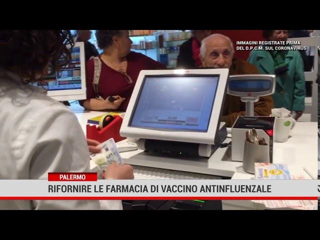 Palermo. Allarme di Federfarma  sui vaccini antinfluenzali