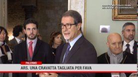 Palermo. Ars: Una cravata tagliata per Fava