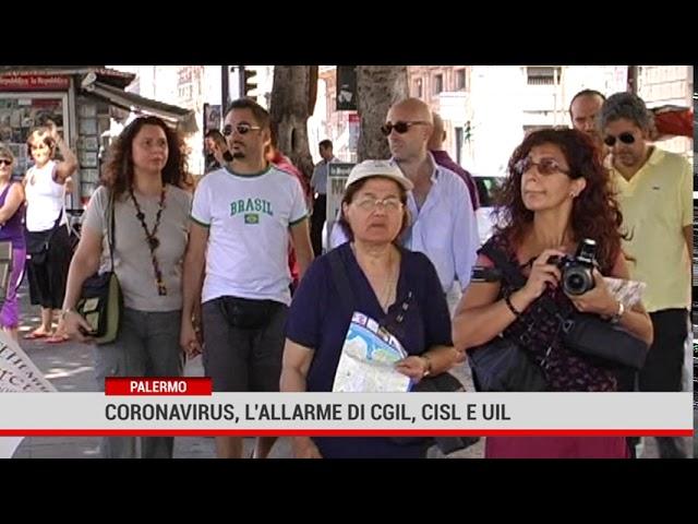 Palermo. Coronavirus, l'allarme di Cgil,Cisl e Uil
