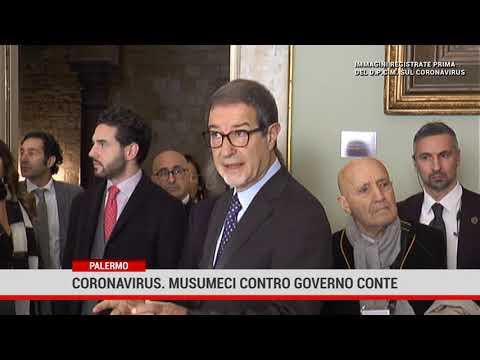 Palermo. Coronavirus, Musumeci contro il lockdown