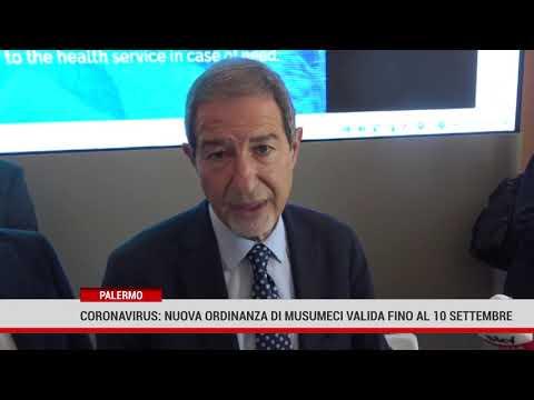 Palermo. Coronavirus: nuova ordinanza di Musumeci valida fino al 10 settembre