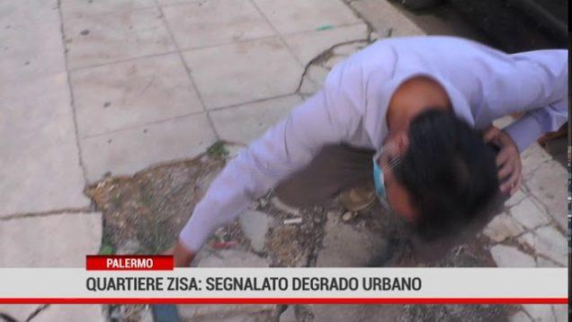 Palermo. Degrado nel quartiere Zisa