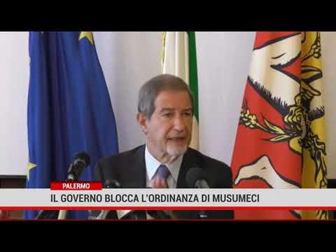 Palermo. Il Governo boccia l'ordinanza di Musumeci