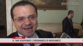 Palermo. Il Tar sospende l'ordinanza di Musumeci