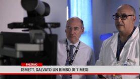 Palermo. Ismett:  salvato un bimbo di 7 mesi