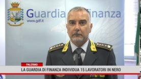 Palermo. La Guardia di Finanza individua 15 lavoratori in nero
