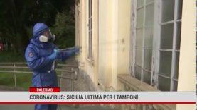 Palermo. Meno tamponi in Sicilia rispetto al resto d'Italia