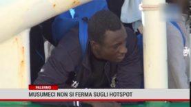 Palermo. Musumeci non si ferma sugli hotspot