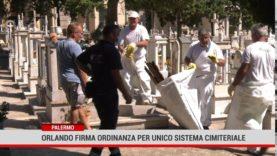Palermo. Orlando firma ordinanza per unicosistema cimiteriale