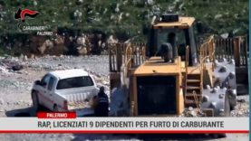 Palermo. Rap, licenziati 9 dipendenti per furto di carburante