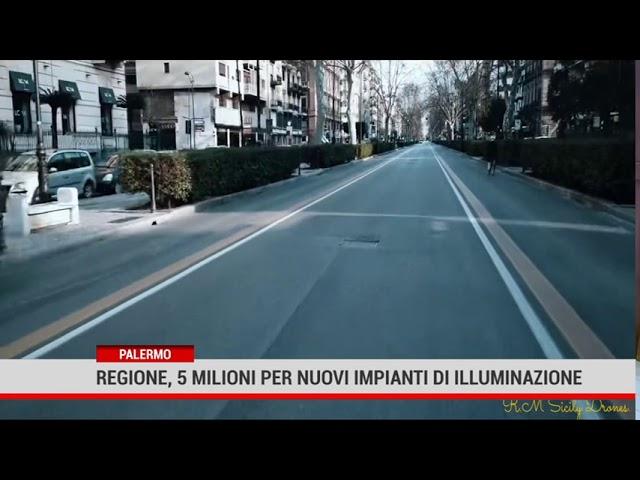 Palermo. Regione, 5 milioni per nuovi impianti di illuminazione