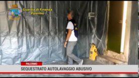 Palermo. Sequestrato autolavaggio abusivo