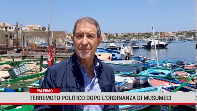Palermo. Terremoto politico dopo l'ordinanza di Musumeci