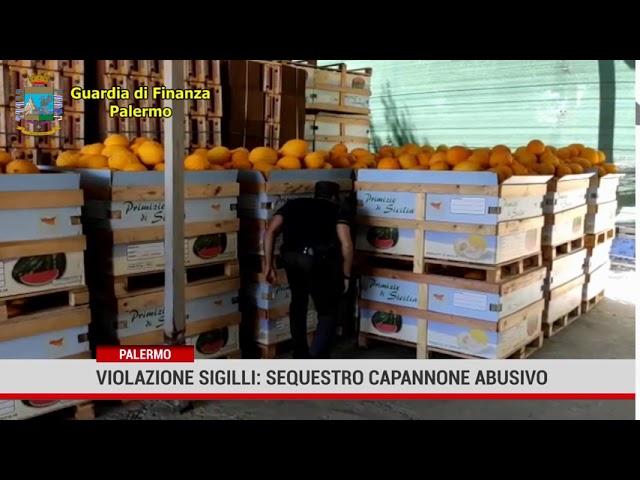 Palermo. Violazione sigilli: sequestro capannone abusivo