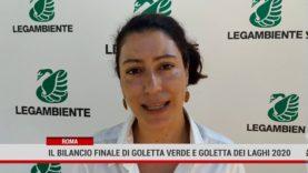 Roma. Il bilancio finale di Goletta Verde e Goletta dei Laghi 2020