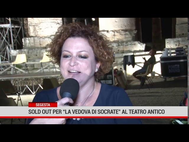 """Segesta. Dionisiache 2020: in scena """"La Vedova Socrate"""" con Lella Costa"""