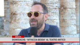 """Segesta. Dionisiache: """"Affaccia bedda"""" al Teatro antico"""