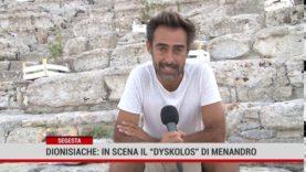 """Segesta. Dionisiache: in scena il """"Dyskolos"""" di Menandro"""