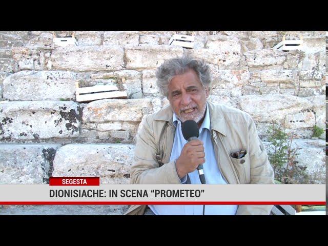 """Segesta. Dionisiache: in scena """"Prometeo"""""""